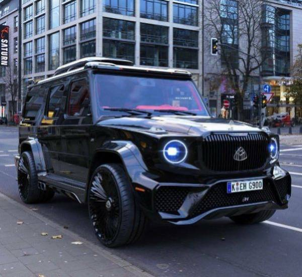 Mercedes G-Class Reimagined As An Ultimate Luxury Maybach G900 - autojosh