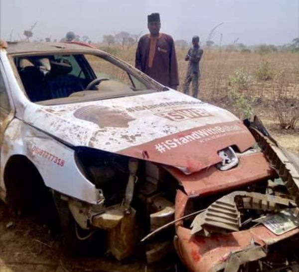 Buhari Supporter Shows His Bullet-riddled Vehicles That Was Damaged Cos He Loves The President - autojosh