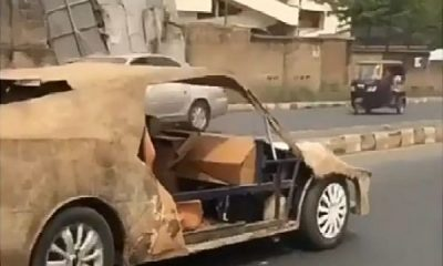 Automobile Enthusiasts Hails Nigerian Man Who Built Sports Car With Condemned Iron - autojosh