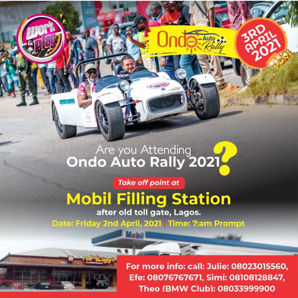 Ondo Auto Rally 2021