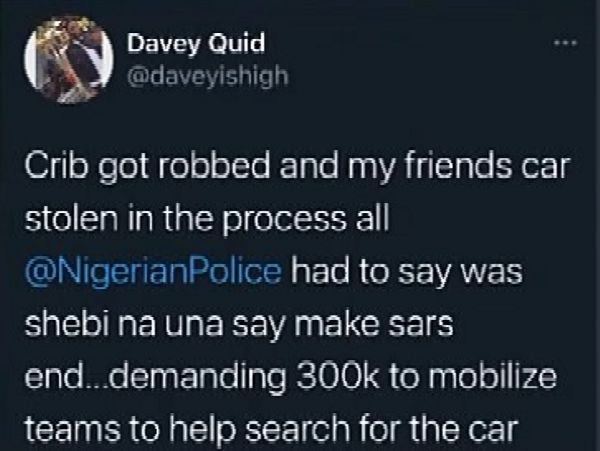 Robbers Raids Lagos Home, Flee With Loot In Victim's Toyota Venza, Police Allegedly Demanded N300k To Track Car - autojosh