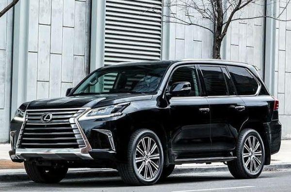 Rosy Meurer Receives Lexus LX 570 SUV As Push Gift From Husband, Olakunle Churchill - autojosh