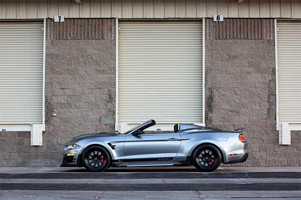 Check Out This 825 Hp Mustang Speedster Built By Shelby American