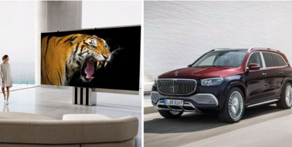 This $400k Self-folding 165-inch TV Cost The Price Of Two Mercedes-Maybach GLS 600 SUVs - autojosh