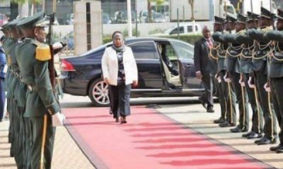 Samia Hassan To Use Bulletproof Volvo S80 As She Becomes First Female President Of Tanzania -autojosh