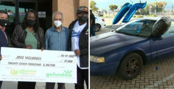 Teacher Living In His Car Gets $27K From Former Students On His 77th Birthday - autojosh