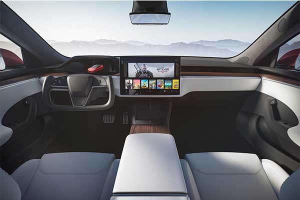 Latest Update For Tesla Model S And X Will Have A Touchscreen Gear Selector