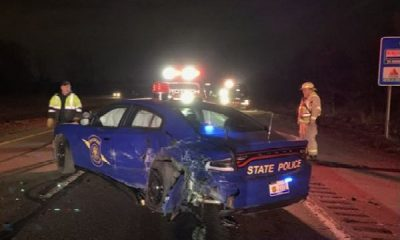 Another Tesla On Autopilot Crashes Into Packed Police Car - autojosh