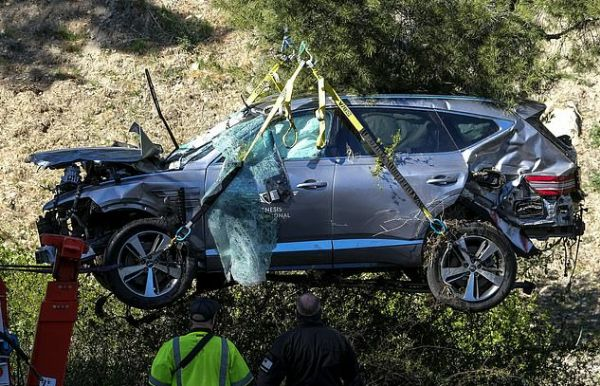 Police Says Tiger Woods Won't Be Punished For Driving 87mph On 45mph Road During Near-fatal Crash - autojosh