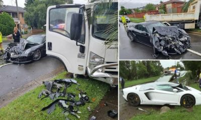 Two Supercars, Lamborghini Aventador And Porsche 911 Turbo, Rented For Wedding, Crash During Storms - autojosh