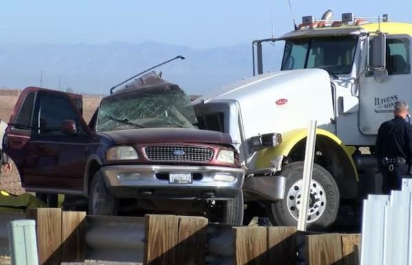 US Opens Human-smuggling Investigation After Truck Crashed Into SUV Carrying 25 People Killing 13 - autojosh