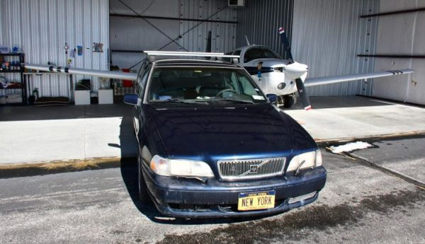 Volvo V70 Fitted With Custom Vanity Plate New York Is for Sale For $20 Million - autojosh