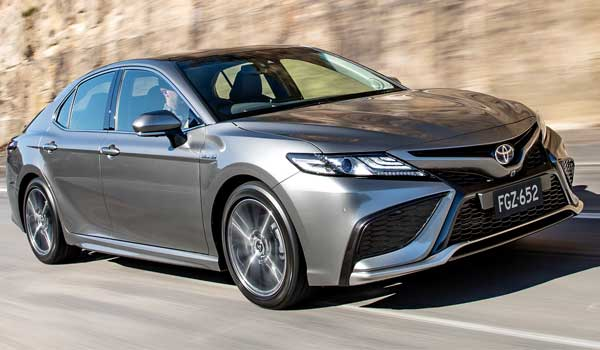 Facelifted Toyota Camry