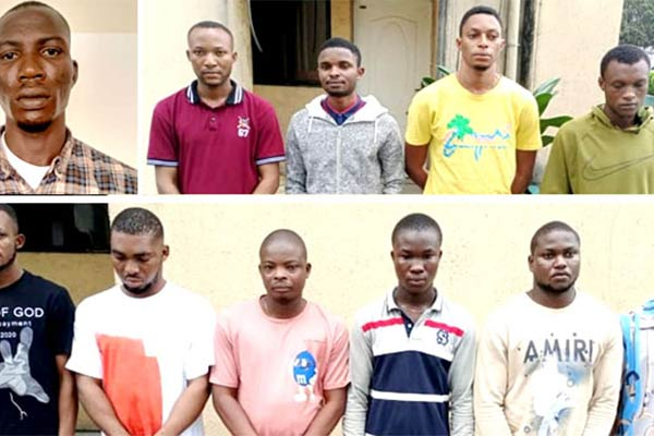 Court Convicts 11 Internet Fraudsters In Port Harcourt, 2 Lexus And Camry Recovered - autojosh