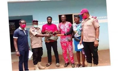 FRSC Returns N716,800 Cash Found At Accident Scene To Deceased Family - autojosh