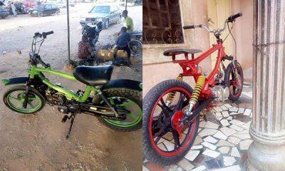 Meet Katsina-based Technician Kabir Who Builds Motorcycles - autojosh