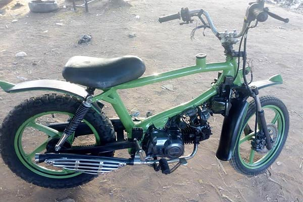 Meet Katsina-based Technician Kabir Who Builds Motorcycles - autojosh