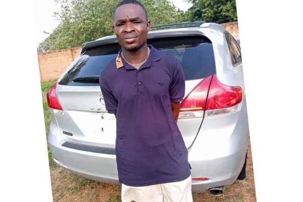 Police Arrests Lagos Car Washer While On His Way To Benin Republic With Customer's Toyota Venza - autojosh