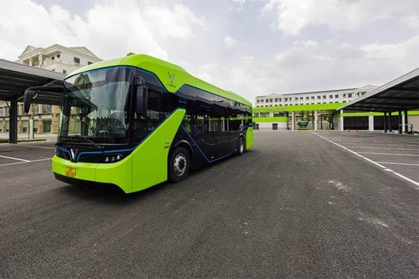 Vinbus Launches Vietnam's First Electric Bus That Goes 260km Per Charge - autojosh