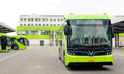 Vinbus Launches Vietnam's First Electric Bus That Goes 260km Per Charge - autojosh