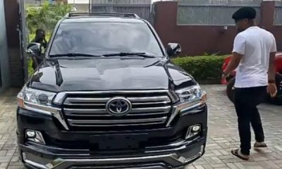 Actor Alexx Ekubo Buys Toyota Land Cruiser SUV - autojosh