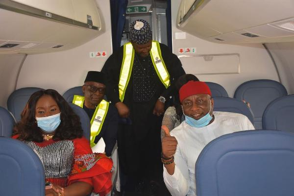 Air Peace Shows Off Luxury Interior Features Of Its Second Brand New 124-seat E195-E2 Aircraft - autojosh