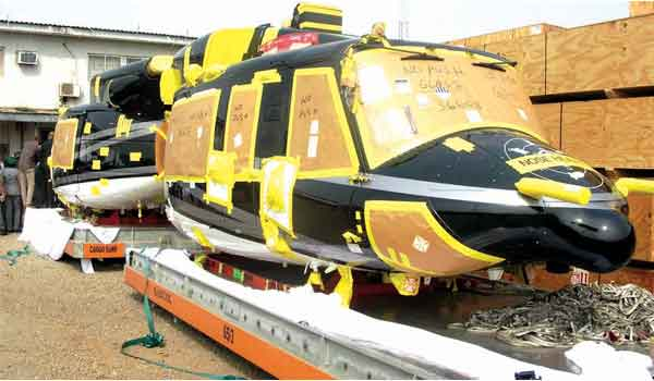 rivers state Armoured Helicopters