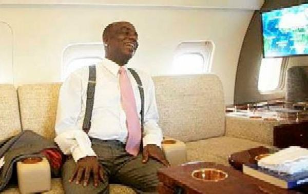 Bishop Oyedepo Blasts Christians Who Failed To Put Church Stickers On Cars, Reveals Meaning Of 633 On His Private Jet - autojosh