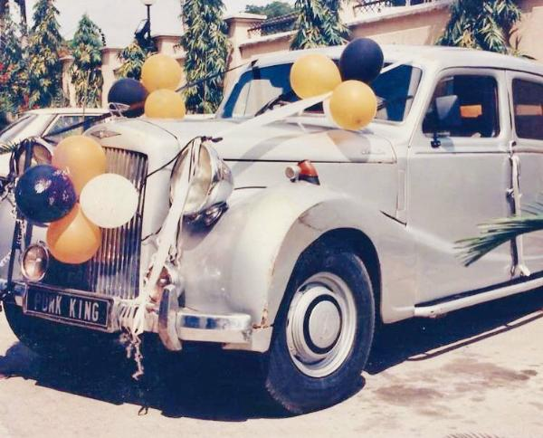 Charly Boy, 70, Shows Off 1949 Austin Of England He Inherited, Says This Car is Older Dan Me - autojosh