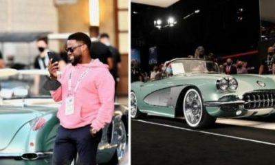 Kevin Hart Buys Mint $825,000 1959 Chevrolet Corvette At Auction - autojosh