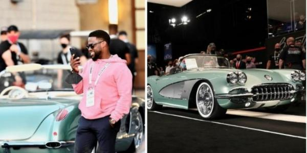 Kevin Hart Buys Mint $825,000 1959 Chevrolet Corvette At Auction - autojosh