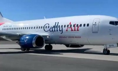 Cross River State Govt-DANA Group Owned Airline Cally Air Takes Delivery Of Its First Aircraft - autojosh