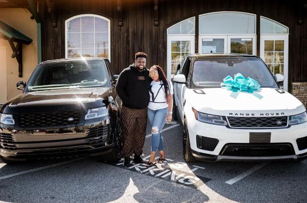 Davido's Brother Adewale Adeleke Surprises Wife With A Range Rover Sport To Celebrate Her Birthday - autojosh