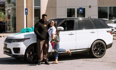 Adewale Adeleke Surprises Wife With A Range Rover Sport To Celebrate Her Birthday - autojosh