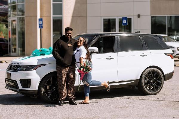 Adewale Adeleke Surprises Wife With A Range Rover Sport To Celebrate Her Birthday - autojosh