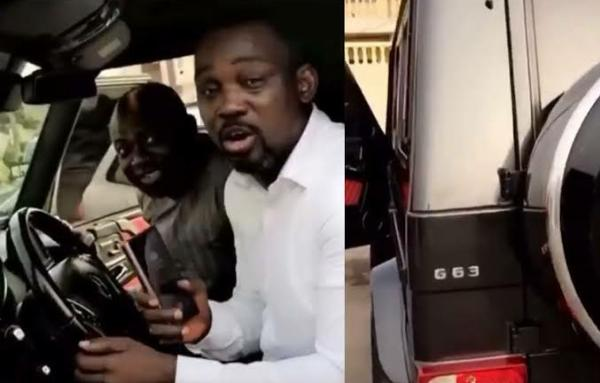 Fuji Star Pasuma Slammed For Cursing His Fans While Showing Off His Latest Ride, Mercedes G-Wagon - autojosh