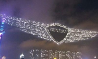 Genesis Announces Arrival In China With Record-breaking 3,281 Drone Display, Sets Guinness Record - autojosh