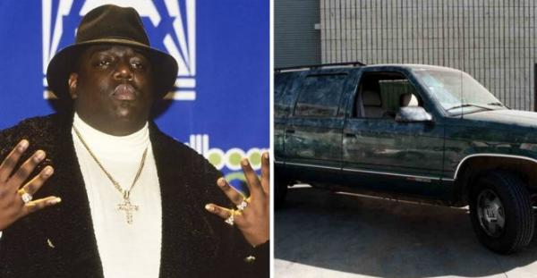 One Of Four Hubcaps From The SUV Notorious B.I.G Was Shot In Is On Sale For $150k - autojosh