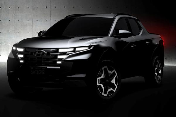 Hyundai Releases Teaser Images Of Upcoming Santa Cruz Pickup Truck Ahead Of April 15th Debut - autojosh