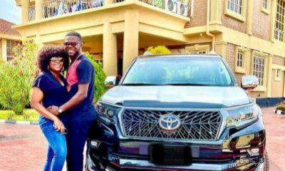 JJC Skillz Acquires Land Cruiser Prado Days After Wife, Funke Akindele Bought Lexus LX 570 SUV - autojosh