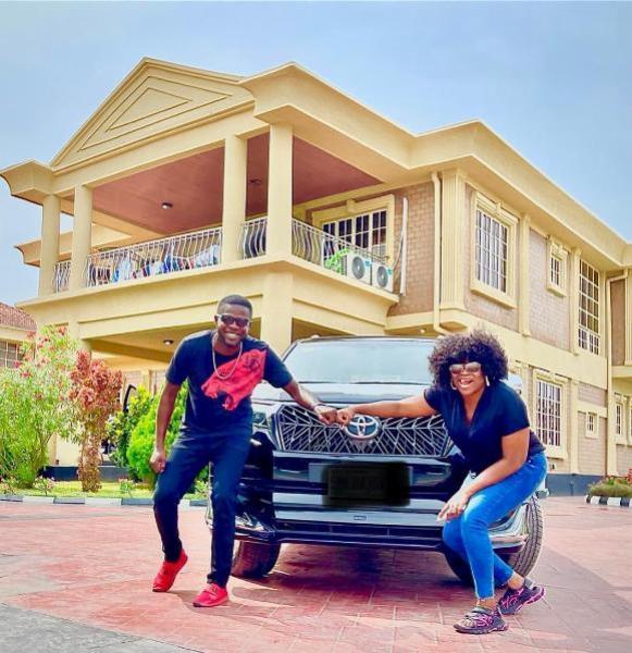JJC Skillz Acquires Land Cruiser Prado Days After Wife, Funke Akindele Bought Lexus LX 570 SUV - autojosh