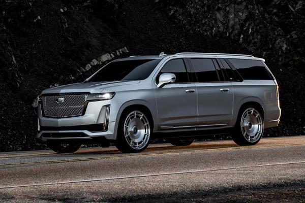 Kim Kardashian's 2021 Cadillac Escalade Platinum ESV Is A Head-turner - autojosh