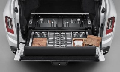 Rolls-Royce Introduces Bespoke Motorized Storage Option For The Cullinan - autojosh