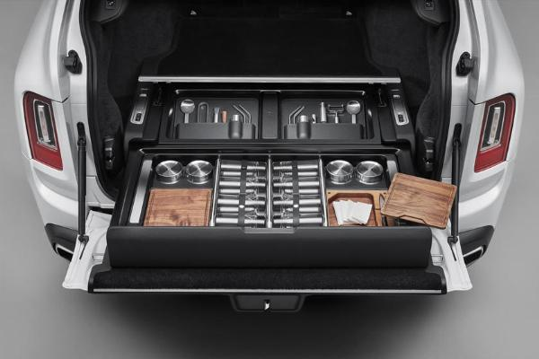 Rolls-Royce Introduces Bespoke Motorized Storage Option For The Cullinan - autojosh
