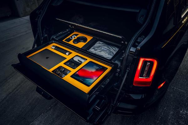 Rolls-Royce Introduces Bespoke Motorized Storage Option For The - autojosh