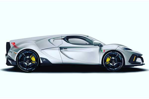 FV Frangivento Sorpasso Is The Latest Italian Supercar Ready To Compete With The Big Boys