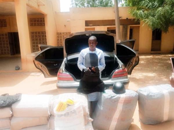 Trans-border Trafficker Arrested In Kebbi After NDLEA Found 280kg Drugs In Car Boot - autojosh
