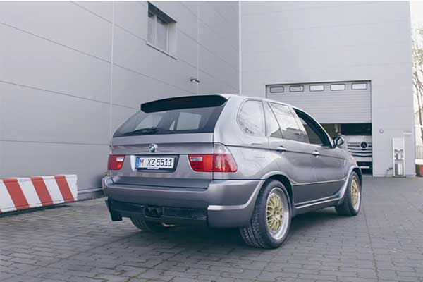 BMW X5 Le Mans A 700Hp V12 Concept That Never Saw The Light