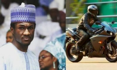 Head Injury : Yusuf Buhari's Recovery From Bike Accident, A Miracle - Aisha's biographer - autojosh