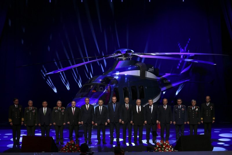 Turkey Unveils 1st Indigenously-Produced Helicopter Gökbey, To Go Full-Scale Testing (PHOTOS)